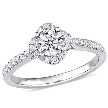 Trang sức Laura Ashley 1/4 CT Kim cương TW Bridal Nhẫn chính hãng sale giá rẻ Hà nội TPHCM