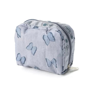 le sportsac butterfly print square cosmetic pouch 6701 f566