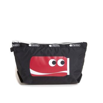 Le Sportsac Cute Coke Print Sloan túi đựng mỹ phẩm Chính hãng từ Mỹ