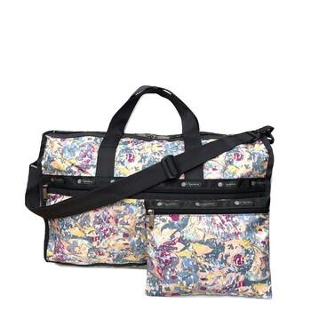 Le Sportsac Galaxy Swirl size trung Weekender Bag Chính hãng từ Mỹ