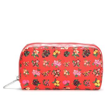 Le Sportsac Garden Trail Sunset Flower Pattern hình chữ nhật túi đựng mỹ phẩm Chính hãng từ Mỹ