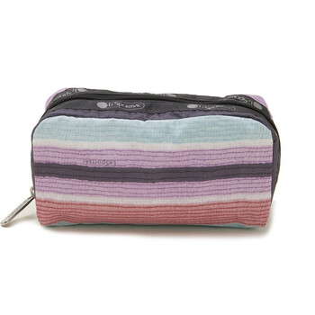le sportsac horizon stripe rectangular cosmetic case 6511 e174