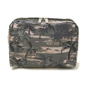 Le Sportsac Island Trails hình chữ nhật túi đựng mỹ phẩm chính hãng đang sale giảm giá ở Hà nội TPHCM