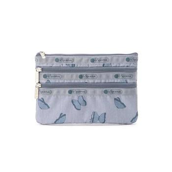 Le Sportsac Nữ 3 - Zip Nylon túi đựng mỹ phẩm chính hãng đang sale giảm giá ở Hà nội TPHCM