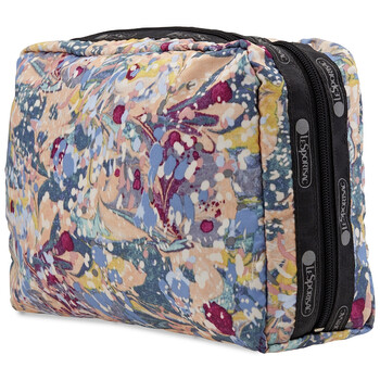 le sportsac ladies galaxy swirl rectangular cosmetic pouch 7121 e133