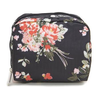 Le Sportsac Nữ Garden Rose Square túi đựng mỹ phẩm chính hãng đang sale giảm giá ở Hà nội TPHCM