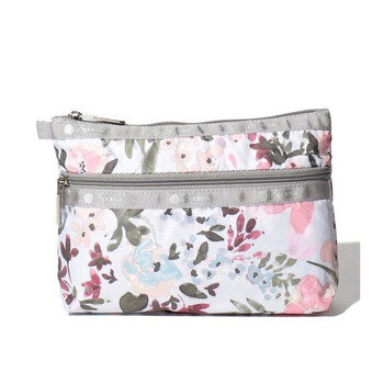 le sportsac ladies multicolor cosmetic clutch bag 7105 f570