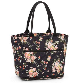 Le Sportsac Nữ Nylon Traveling Everygirl Túi Tote Garden Rose Chính hãng từ Mỹ