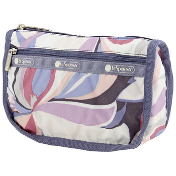 Le Sportsac Nữ Orchid Swirl Travel túi đựng mỹ phẩm chính hãng đang sale giảm giá ở Hà nội TPHCM
