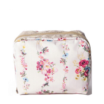 le sportsac laelia rose garland square cosmetic pouch 6701 f438