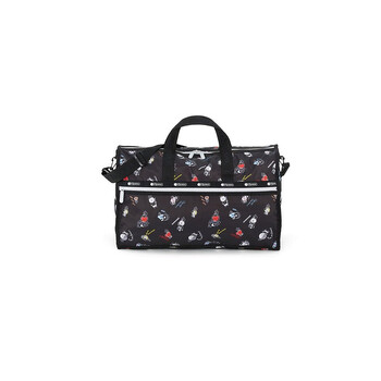 le sportsac medium weekender duffel bag in black 7184 k903