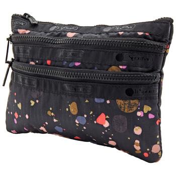 Le Sportsac đa màu sắc 3 - Zip túi đựng mỹ phẩm Chính hãng từ Mỹ