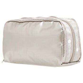 Le Sportsac Opal Forest Metallic hình chữ nhật túi đựng mỹ phẩm Chính hãng từ Mỹ