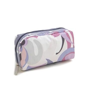 Le Sportsac Orchid Swirl Print hình chữ nhật túi đựng mỹ phẩm Chính hãng từ Mỹ