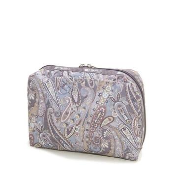 Le Sportsac Paisley Swirl hình chữ nhật túi đựng mỹ phẩm chính hãng đang sale giảm giá ở Hà nội TPHCM