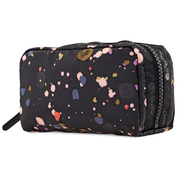 le sportsac pebbles and hearts print rectangular cosmetic case 6511 f408