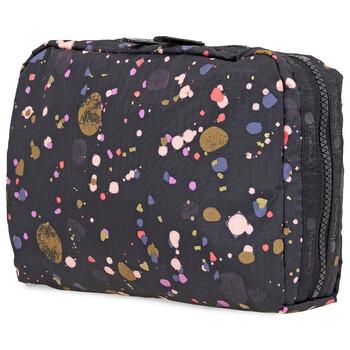 Le Sportsac Pebbles and Hearts Print hình chữ nhật túi đựng mỹ phẩm Chính hãng từ Mỹ