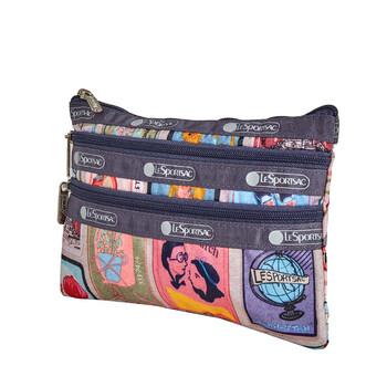 Le Sportsac Pefect Match Print 3 - Zip túi đựng mỹ phẩm Chính hãng từ Mỹ
