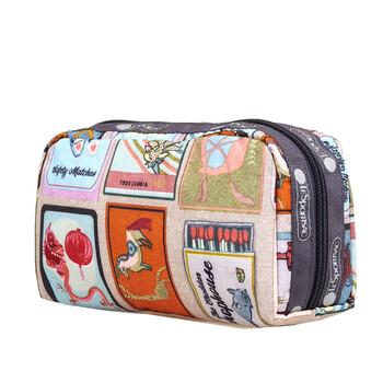 Le Sportsac Perfect Match Print hình chữ nhật túi đựng mỹ phẩm chính hãng đang sale giảm giá ở Hà nội TPHCM