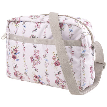 le sportsac rose garland daniella nylon crossbody bag 2434 f438