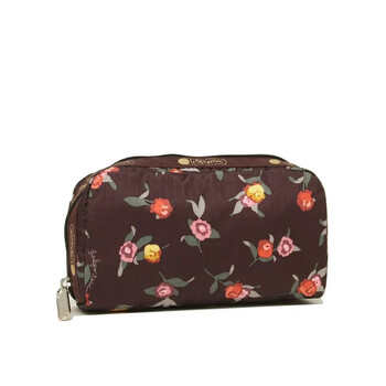 le sportsac zinnia fields rectangular cosmetic case 6511 f300