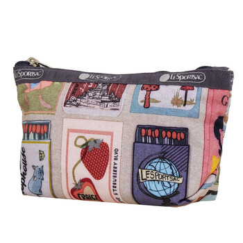 lesportsac ladies perfect match print small sloan cosmetic case 2724 f409
