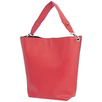 Lianna Paris màu đỏ / Burgundy size trung Cabas chính hãng đang sale giảm giá ở Hà nội TPHCM