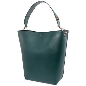 Lianna Paris màu xanh lá / màu xanh dương size trung Chameleon Cabas Chính hãng từ Mỹ