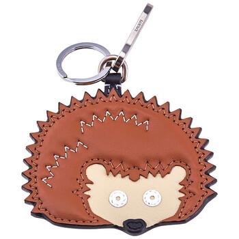 Loewe Nữ Brown Hedgehog Da Charm Keychain Chính hãng từ Mỹ