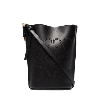 Loewe Gate màu đen Nữ Anagram Bucket Bag Chính hãng từ Mỹ