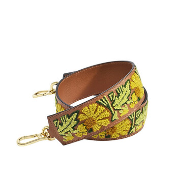 Loewe Nữ Floral Crochet Da Bag Strap Chính hãng từ Mỹ