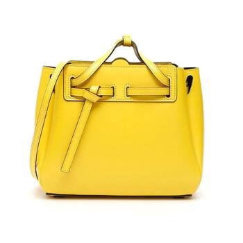 Loewe Nữ Mini Lazo Bag Box Da bê - màu vàng Chính hãng từ Mỹ