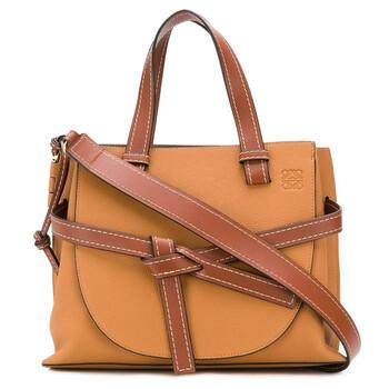 Loewe Nữ Soft Grained Da bê size nhỏ Gate Top Handle Bag Chính hãng từ Mỹ