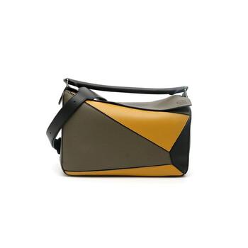Loewe Nam size lớn màu xanh lá Puzzle Bag Chính hãng từ Mỹ