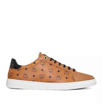 Giày Mcm nữ Cognac New Court Sneakers chính hãng