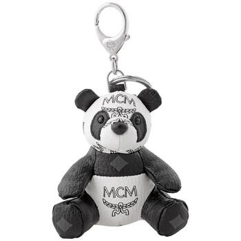 Mcm màu trắng Animal Keyfobs Panda Charm Chính hãng từ Mỹ