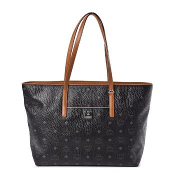 Mcm màu đen Visetos size trung Anya Shopper Tote Chính hãng từ Mỹ