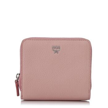 Mcm Nữ Milla Ví Da màu hồng Blush Chính hãng từ Mỹ