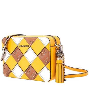 Michael Kors Zip Top Camera Cross - Body Bag - màu vàng / Multi Chính hãng từ Mỹ