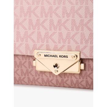 Michael Kors Ballet màu hồng Mixed Cece Túi đeo chéo chính hãng đang sale giảm giá ở Hà nội TPHCM