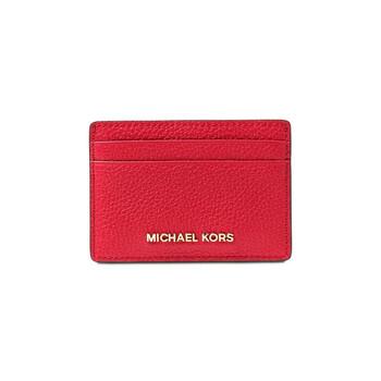 Michael Kors Bright màu đỏ Jet Set Card Holder chính hãng đang sale giảm giá ở Hà nội TPHCM