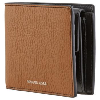 Michael Kors Greyson Pebbled Billfold Ví With Coin Pocket Chính hãng từ Mỹ