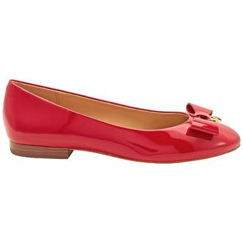 Giày Michael Kors nữ Aimme Ballet Flats màu đỏ chính hãng
