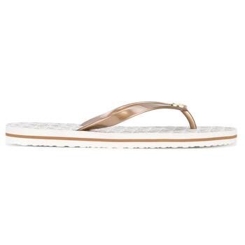 Giày Michael Kors nữ Branded Logo Flip Flops chính hãng