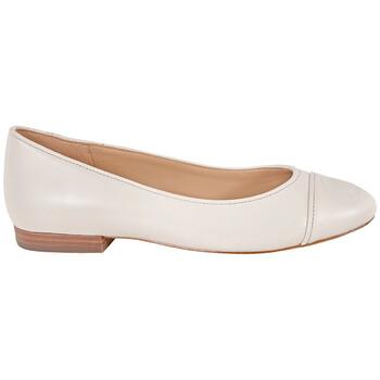 Giày Michael Kors nữ Dylyn Leather Logo Ballet Flats chính hãng
