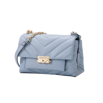Michael Kors Nữ Pale màu xanh dương Chần bông Da Cece size trung Convertible Túi đeo vai Chính hãng từ Mỹ