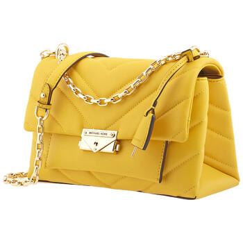 Michael Kors Nữ màu vàng Chần bông Da Cece size trung Convertible Túi đeo vai Chính hãng từ Mỹ