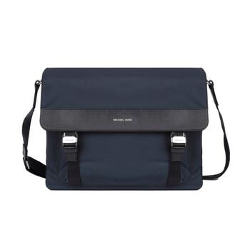 Michael Kors Nam Navy màu xanh dương Brooklyn Gabardine Nylon Messenger Bag Chính hãng từ Mỹ