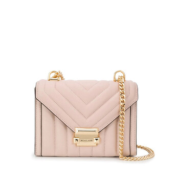 michael kors pink whitney quilted shoulder bag 30f8gxil1t 688