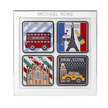 Michael Kors Top City Sticker Collection Set chính hãng đang sale giảm giá ở Hà nội TPHCM